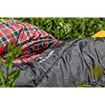 TETON Sports Celsius XXL Sleeping Bag; Great for Family Camping; Free Compression Sack 21 COMFORTABLE SLEEPING BAG FOR ADULTS: Soft lining; Half-circle mummy style hood keeps you warm and your pillow clean; Unzips at the top or bottom for easy access and ventilation; For camping in 3 seasons NEVER ROLL YOUR SLEEPING BAG AGAIN: TETON provides a great compression sack for stuffing your sleeping bag; Start at the bottom and stuff the bag in, then tighten the heavy-duty straps STAY WARM IN COLD WEATHER: You'll be warm and rested in this sleeping bag; Innovative fiber fill, double-layer construction and draft tubes work together to keep the warmth in