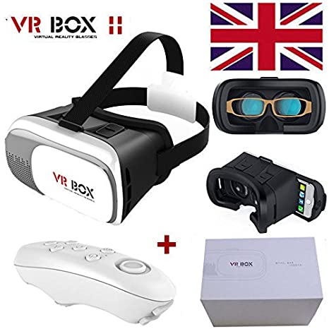 2fafd881b062 VR Headset BOX FREE Bluetooth Remote Controller For 3.5-6.0 Inch IPhone 5 5s