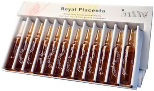 Cosmofarma Royal Placenta Hair Lotion, 10 ML, 12-Count