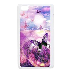 Lavender Popular Case for Ipod Touch 4, Hot Sale Lavender Case