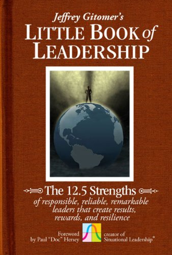 Amazon jeffrey gitomers little book of leadership the 125 jeffrey gitomers little book of leadership the 125 strengths of responsible reliable remarkable fandeluxe Ebook collections
