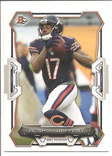 Alshon Jeffery Chicago Bears 2015 Bowman Football Card #23