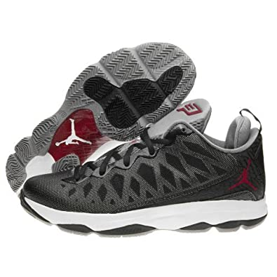 buy popular e10d2 b5b10 Image Unavailable. Image not available for. Color  Jordan CP3.VI Black Gym  Red Cement (535807 ...