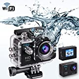 """Indigi HD 1080P Sports DV Action Camera Camcorder 1.5"""" LCD HDMI WiFi Version for iPhone 6 6+ Galaxy S6 S5 Note 4"""