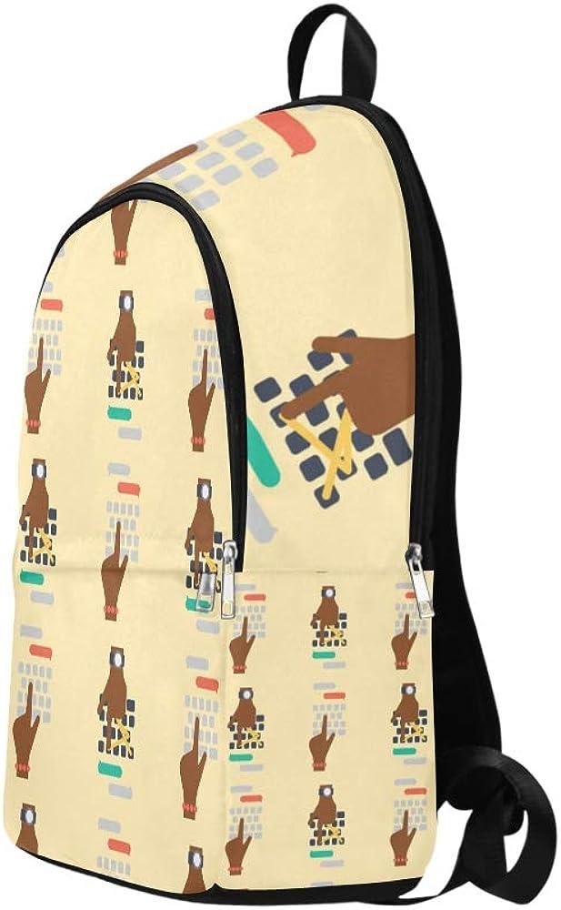 NANA Daypack Backpack Reative Fashion Keyboard Computer Durable Water Resistant Classic Travel Bag for Girls Casual Shoulder Bag for Women School College Bag Bag Kids School
