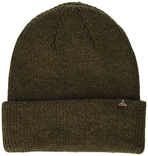 (prAna Men's Toren Beanie Cold Weather Hats, One Size, Mud)