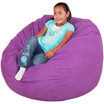 Cozy Sack 3 Feet Bean Bag Chair Medium Purple