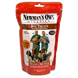 Newman's Own Organics Dog Treats for Small Sized Dogs, Peanut Butter, 10-Ounce Bags (Pack of 6), My Pet Supplies