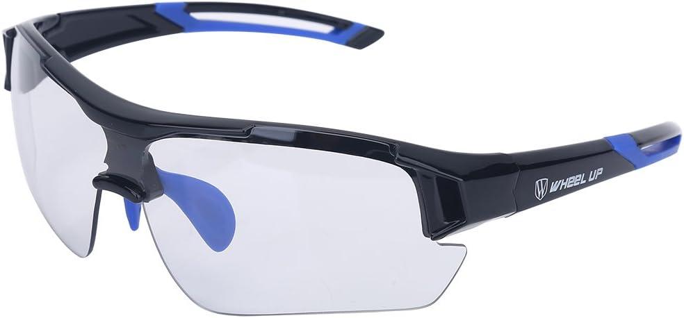 Gafas Deportivas Fotocromaticas,Gafas de Sol al Aire Libre a Prueba de Viento Protección UV Gafas de Ciclismo de Bicicleta de Montaña de Carretera para Hombre Mujer