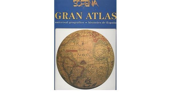 Gran Atlas Sopena Universal Geografico Historico De España: Amazon ...