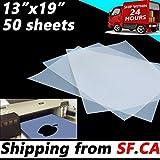 (50 Sheets,13''x19'') Waterproof Inkjet Silk Screen Printing Transparency Film