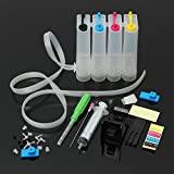 ACOLOR Continuous Ink supply system Diy Ciss Kit Work For all Inkjet cartridge Ciss Printer PG-240XL Cl241 PG210XL CL211 PG245XL CL246XL PG40 CL41 PG50 CL51 Ink Cartridge