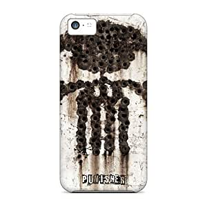 High-end Case Cover Protector For Iphone 5c(the Punisher)