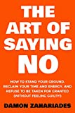Bargain eBook - The Art Of Saying NO