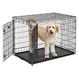 MidWest-Ulitma-Pro-Extra-Strong-Double-Door-Folding-Metal-Dog-Crate