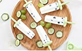 Features: ★ 6 pieces of mold★ BPA-Free and FDA approved ★ Anti-shedding design ★ Dishwasher safe ★ Warranty:Have any quality problems we will be full refund How to make a delicious popsicle: 1.Put your favorite material into the mold, you can add mil...