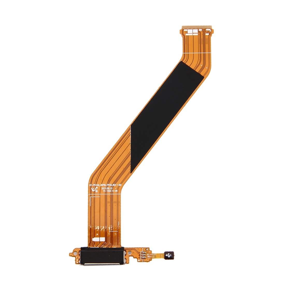 【レビューで送料無料】 部品交換用パーツ Samsung Galaxy Tab 2 2/ (10.1)/ P5100用高品質バージョンテールプラグフレックスケーブル B07QTKD3DH B07QTKD3DH, 花もぐら:5c7d48f7 --- a0267596.xsph.ru