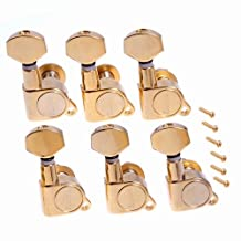 1set 6R grover style tunning pegs Tuners Machine Heads Gold High Quality