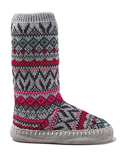 Eddie Bauer Womens Slope Side Lounge Boot Scarlet (rosso)