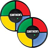 (Set/2) Simon Electronic Light & Sound Memory Game With New Digital Screen