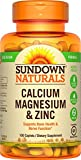 Cheap Sundown Naturals® Calcium, Magnesium and Zinc High Potency, 100 Caplets