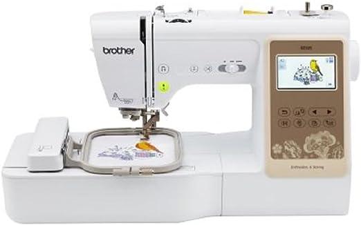 Brother SE625 máquina de coser computarizada con combinación y bordado de 4 x 4 con pantalla LCD a color, 280 diseños de bordado total: Amazon.es: Hogar