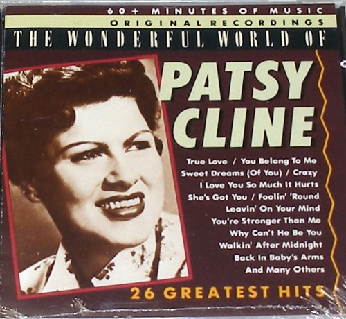 Patsy Cline - The Wonderful World Of Patsy Cline - 26 Greatest Hits - Zortam Music