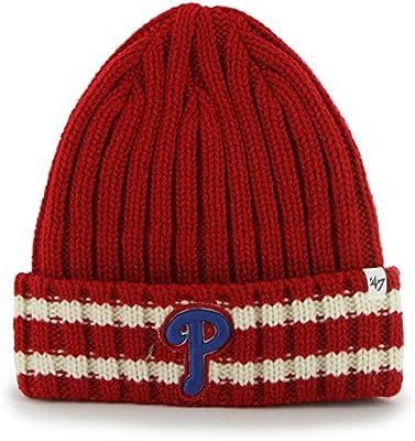 aed605e89 Amazon.com : '47 MLB Philadelphia Phillies Embroidered Logo Stripe ...