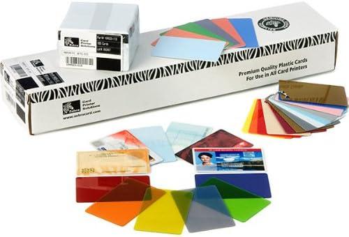 Zebra Premier Colour PVC Tarjeta de Visita 500 Pieza(s) - Tarjetas de Visita (500 Pieza(s))