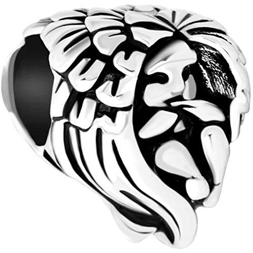 LovelyJewelry Guardian Angel Prayer Protect Me Charm Beads For Bracelet (Angel Baby)