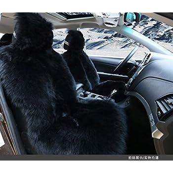 Stupendous Amazon Com Oflba Faux Sheepskin Car Seat Cover Front Fur Inzonedesignstudio Interior Chair Design Inzonedesignstudiocom