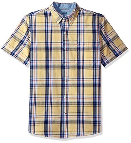 izod-mens-saltwater-poplin-short-sleeve-shirt-sunlight-small