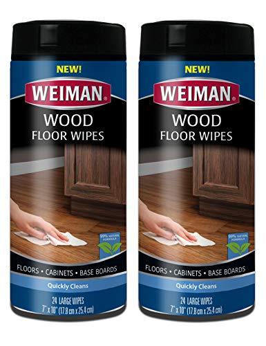 (Weiman Wood Floor Wipes, 24 count (2 Pack))