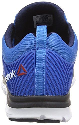 ReebokZQuick Dash - Zapatillas de correr hombre azul - Blau (Cycle Blue/Faux Indigo/Neon Cherry/White)