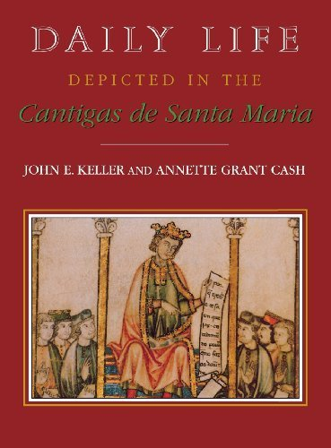 Daily Life Depicted in the Cantigas de Santa Maria (Studies in Romance Languages) by John E. Keller - Santa Maria Shopping In