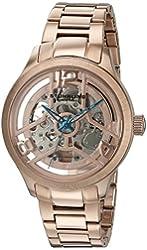 Stuhrling Original Men's 784.04 Symphony Analog Display Automatic Self Wind Rose Gold Watch