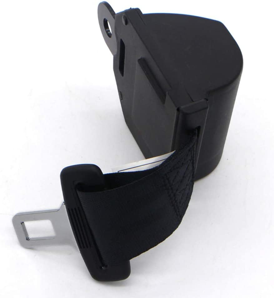 FIREDOPE Universal Seat Belt 2 Point Adjustable Retractable Emergency Locking Safety Belts Vehicle Certification Safety Seat Belt