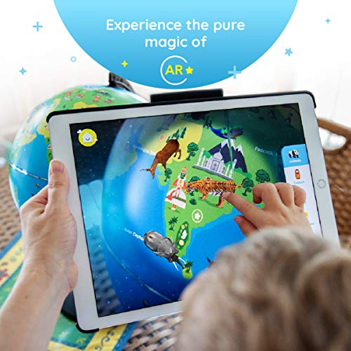 Shifu Orboot (App Based): The Educational, Augmented Reality Based Globe | STEM Toy for Boys & Girls Age 4 to 10 Years | Learning Toy Gift for Kids (No Borders and No Names on Globe) by Shifu (Image #4)