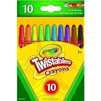 10 Count Crayola Mini Twistables Crayons