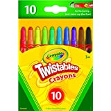 Crayola 52-9715 Mini Twistables Crayons 10 PACK