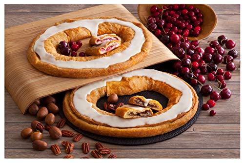 Danish Kringle Pair - Wisconsin & Pecan (Best Kringle In Wisconsin)