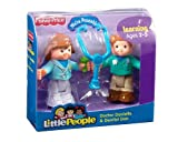 FISHER PRICE LITTLE PEOPLE DOCTOR DANIELLE & DENTIST DAN PLAYSET