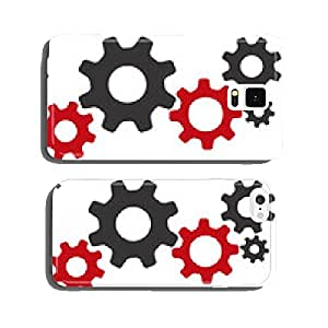 Gears pictogram vectors cell phone cover case iPhone5