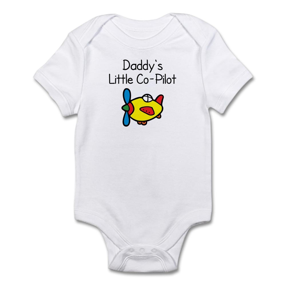 Cafepress daddys little co pilot baby bodysuit cute infant cafepress daddys little co pilot baby bodysuit cute infant bodysuit baby romper amazon clothing negle Image collections