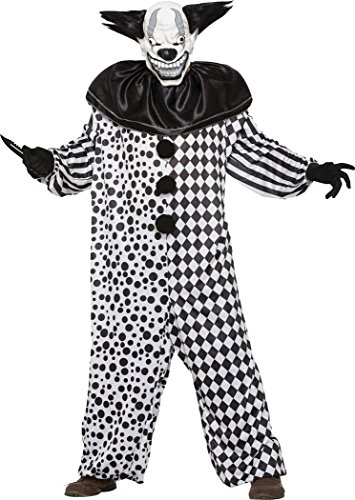 Adult Fancy Halloween Scary Dress Party Outfit Evil