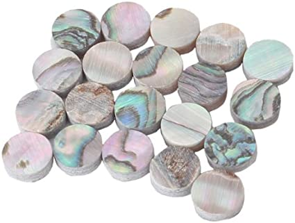 Abalone  Shell  Luthier Dots 2 mm 10  Paua