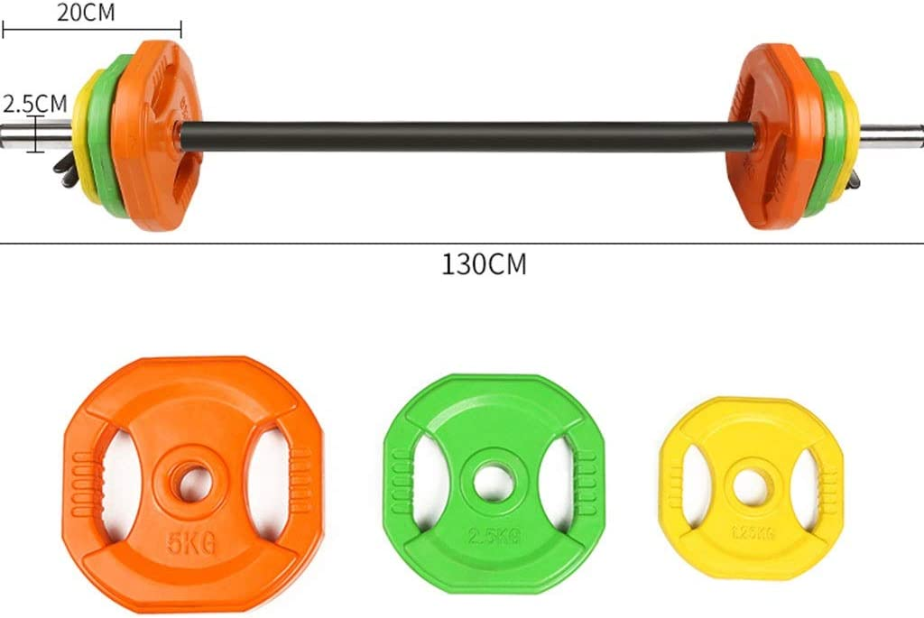 weight set and clips sold separately adjustable barbell weight set 20kg studio//home gym body pump set bar