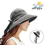 Womens Sun Hat Packable Bucket Hats Summer Sun UV Protection Hat for Women