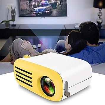 MeterMall Mini proyector de Video portátil HD 1080P Multimedia LCD ...