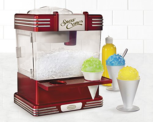 Nostalgia-RSM602-Retro-Series-Snow-Cone-Maker-Shaved-Ice-Storage